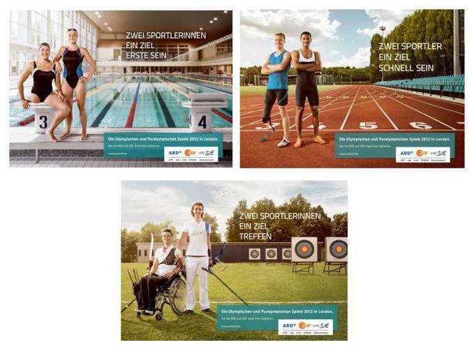 Die Kampagnenmotive von Serviceplan Berlin
